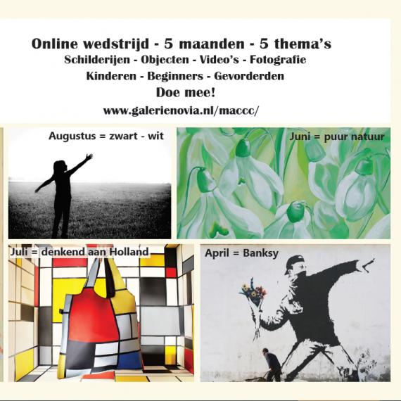 Online kunstwedstrijd