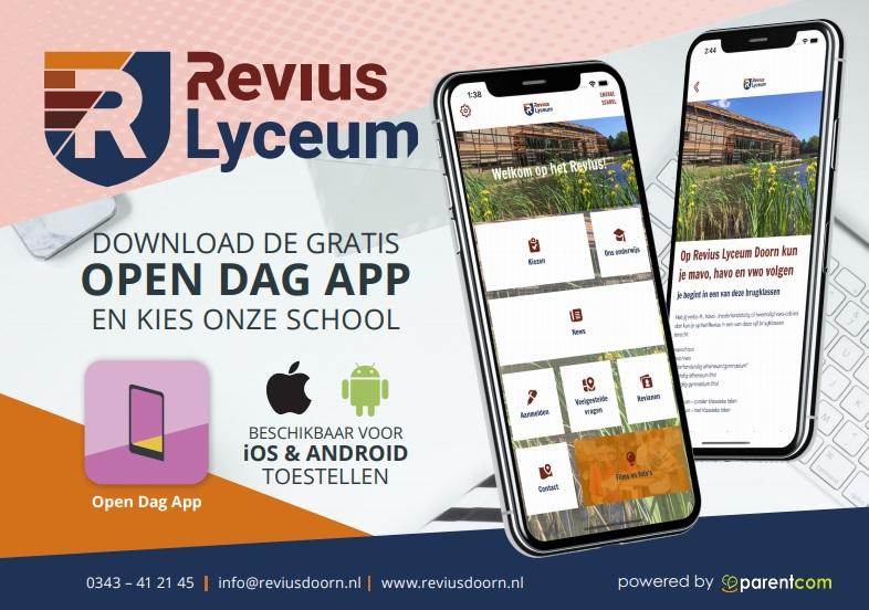App Open Dag voor groep 8'ers