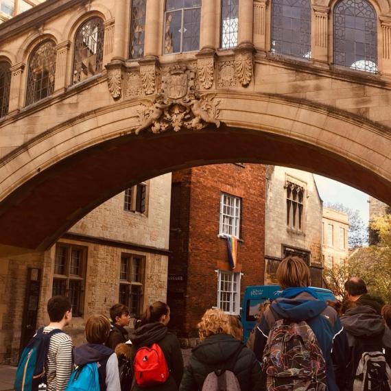 Tto 2-leerlingen in Engeland