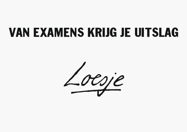 Landelijke eindexamens do. 9/5 t/m woe. 22/5