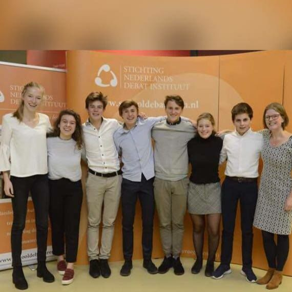 Revius Dutch Debating Society op NK Debatteren