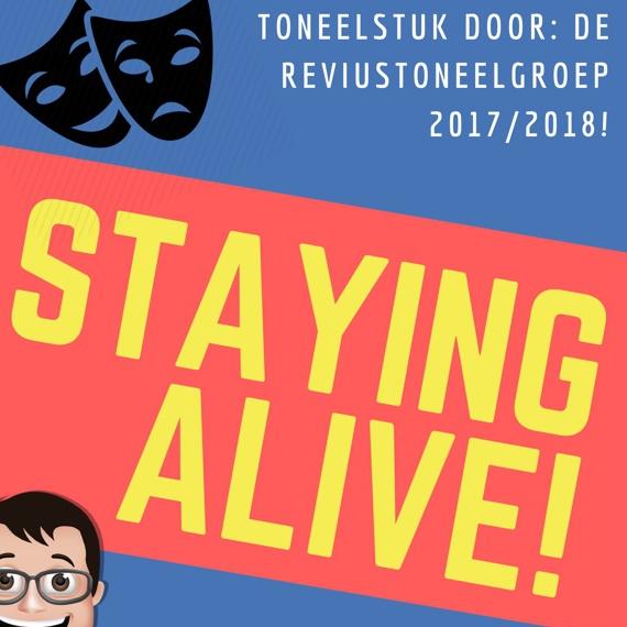 Toneel do 7 en vr 8/6: Staying Alive!