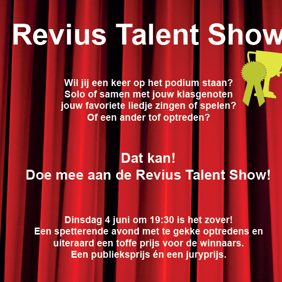 di. 4/6 Revius Talent Show!