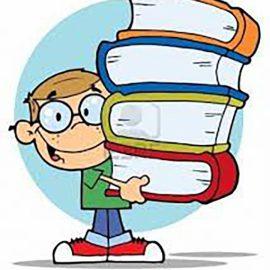 Boeken inleveren en rapport ophalen