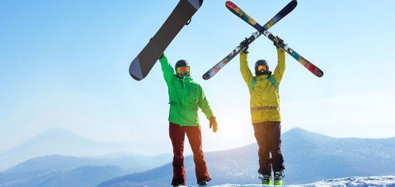 Ski- en snowboardclinic!