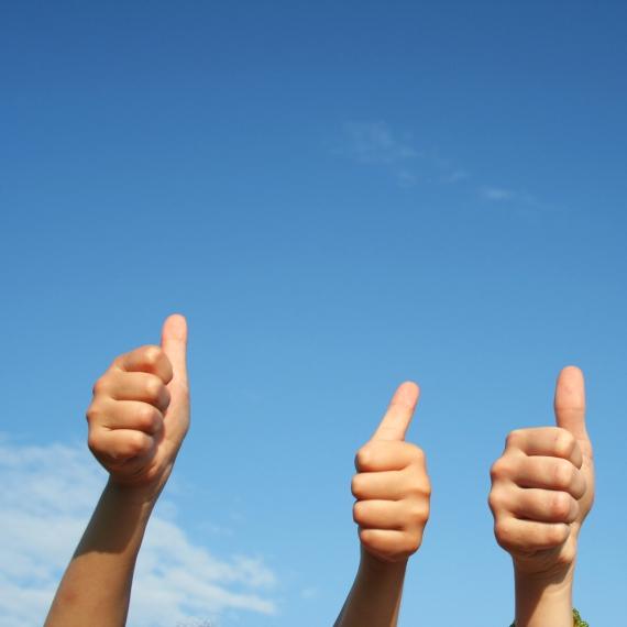 Examenkandidaten: succes!